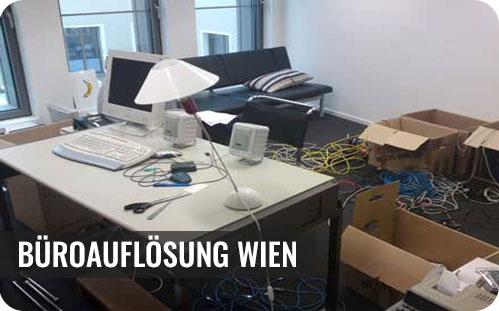 Büroauflösung Wien
