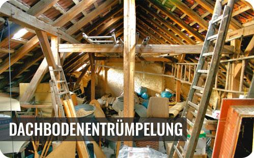 Dachbodenentrümpelung